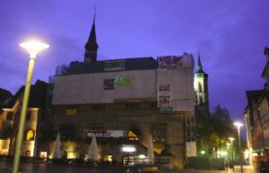 Soliaktion am Rathaus Göttingen, Oktober 2017