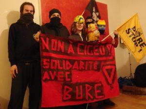 Solidarität mit dem Widerstand gegen das Atomklo in Bure!