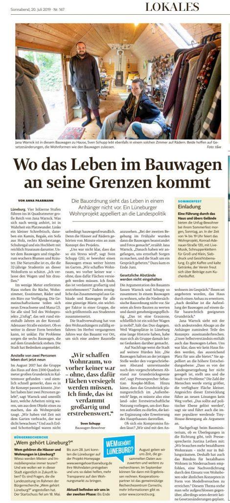 Landeszeitung vom 20. Juli 2019, Seite 5