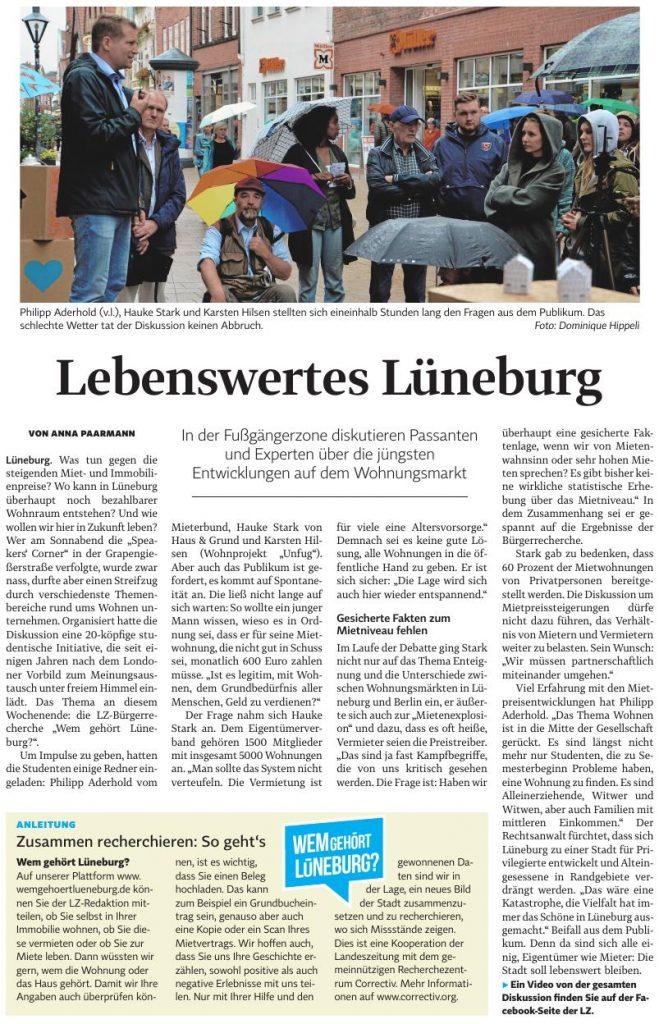 Landeszeitung vom 08.07.2019