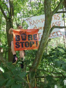 Soli mit dem Kampf gegen das Atomklo Bure in Frankreich - Quelle C. lecomte