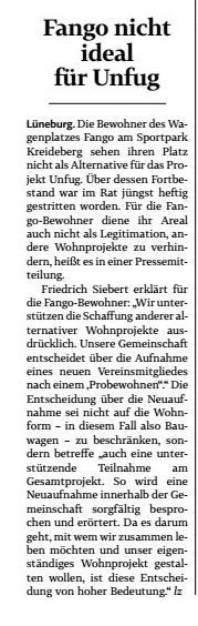 Landeszeitung vom 18.3.2020