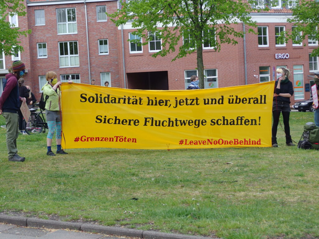 #LeaveNoOneBehind Banner