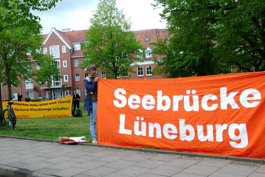 Banner Seebrücke Lüneburg
