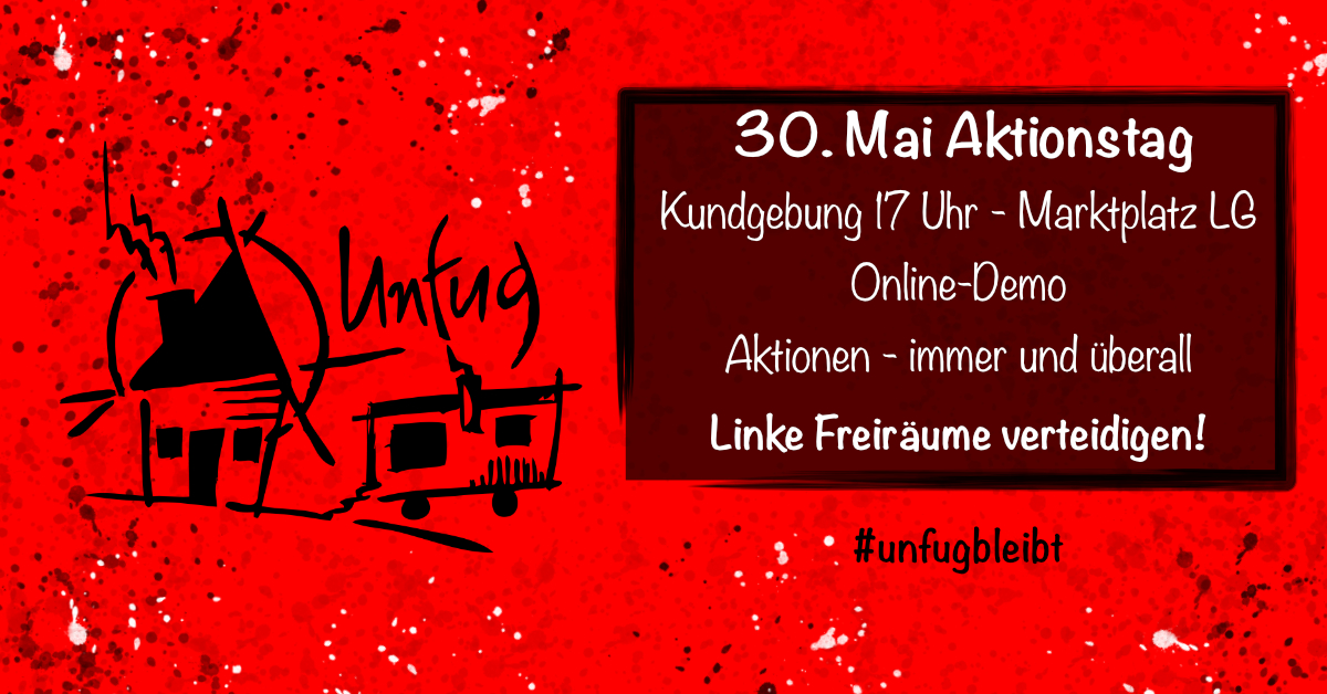 Plakat zum Aktionstag