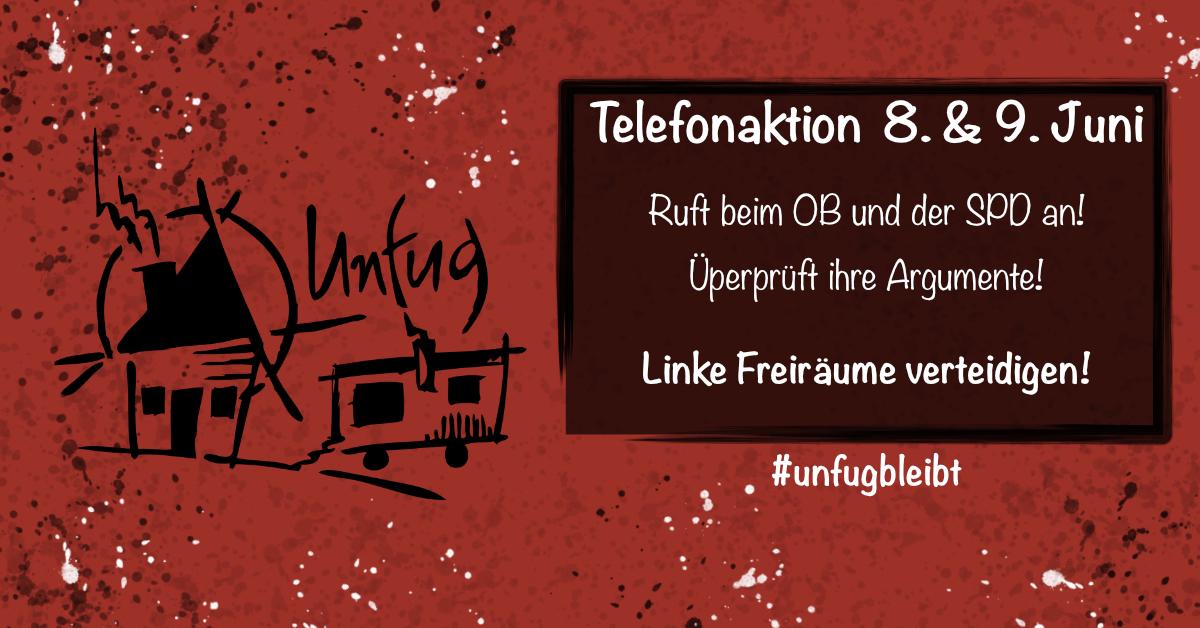 neuer Aktionstag – Telefonieren bis die Leitung glüht?
