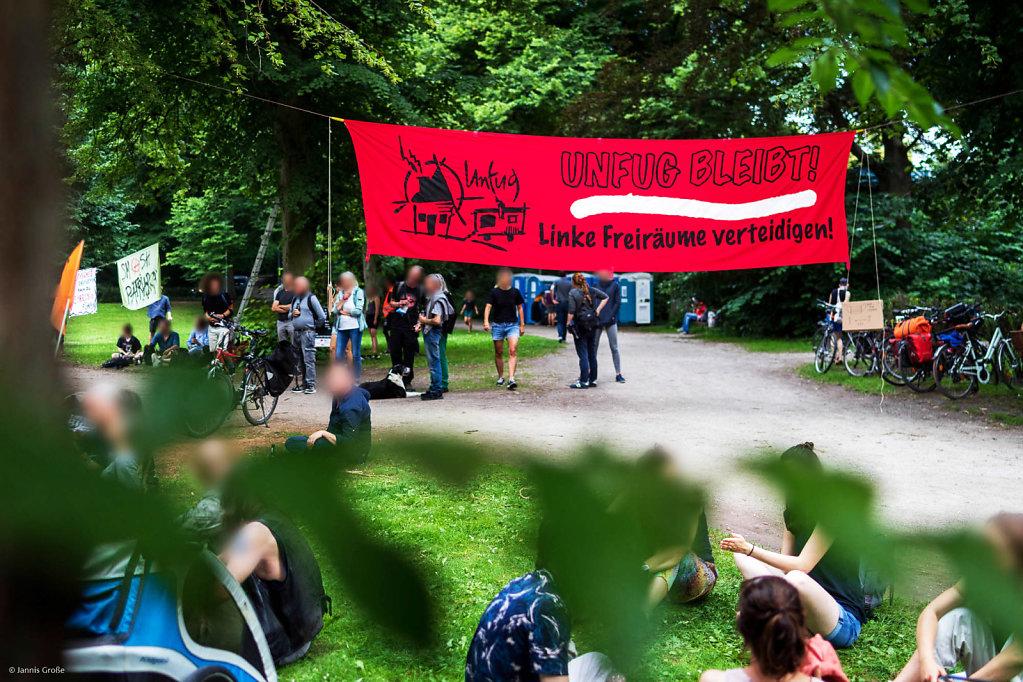 Recht auf Stadt Camp Juli 2020, Bild Jannis Große