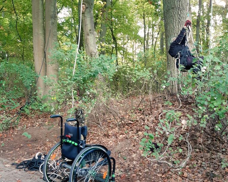 workshop Klettern und Behinderung