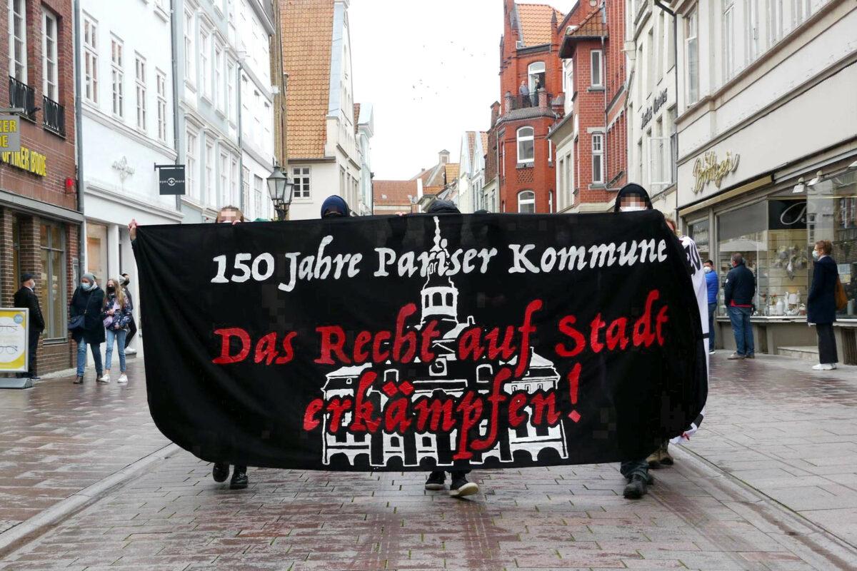 #RechtAufStadt Redebeitrag antifaschistische Jugend