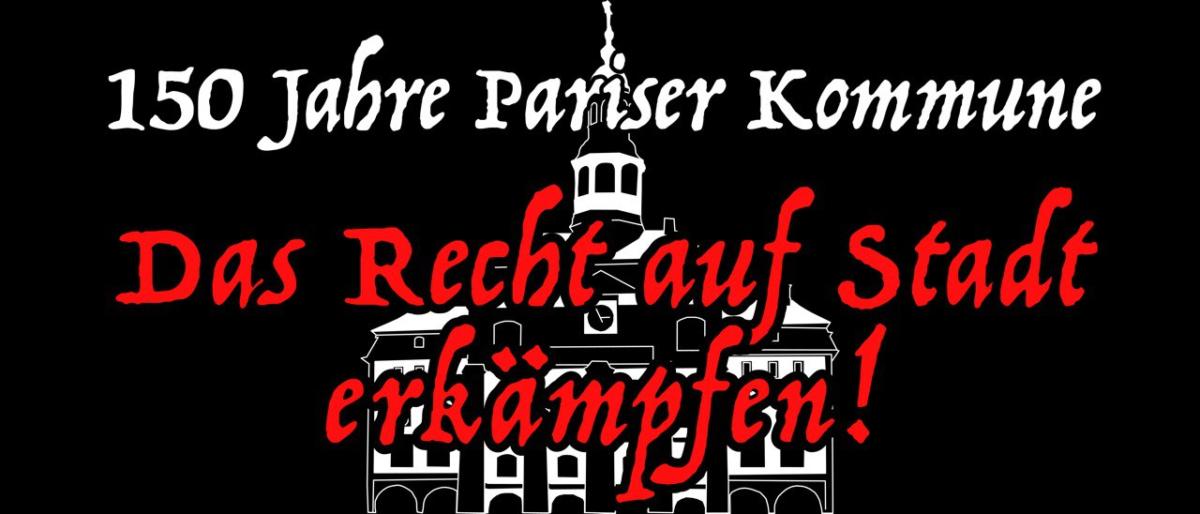 Redebeitrag von zu 150 Jahre Pariser Kommune